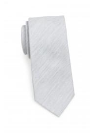 Skinny Tie in Mystic Gray