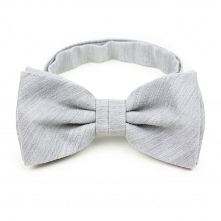 Linen Textured Bow Tie