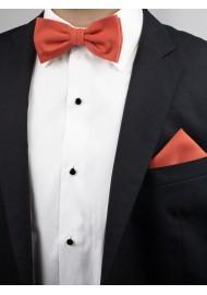 Cinnamon Bow Tie Set Styled