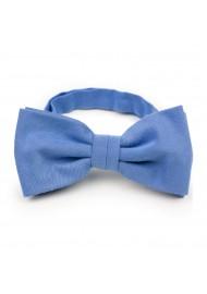 Ash Blue Bow Tie