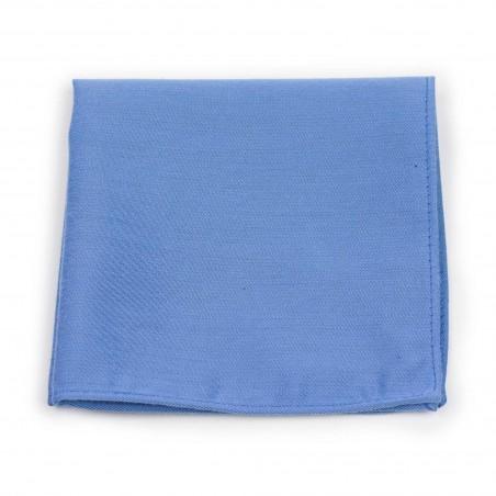 Ash Blue Pocket Square