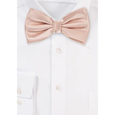 Mens Bow Tie in Antique Blush