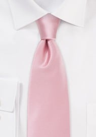 Elegant Mens Tie in Summer Pink