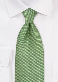 Textured Green Tie