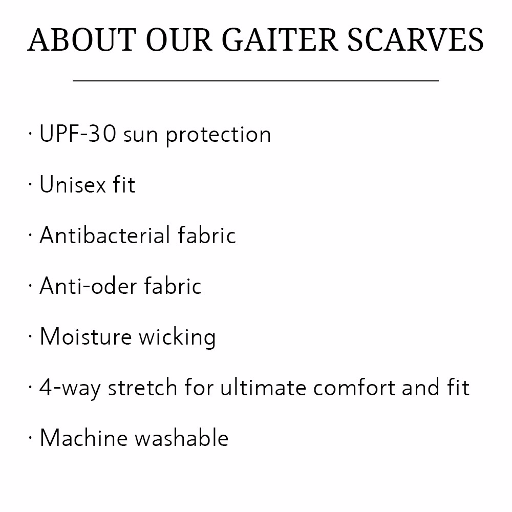 gaiter scarves bows-n-ties benefits