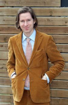 Stylish Celebrities Director Wes Anderson