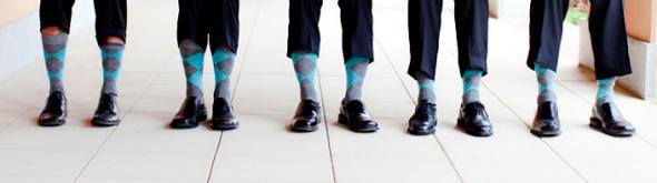 Groom & Groomsmen\'s Attire for Teal Weddings
