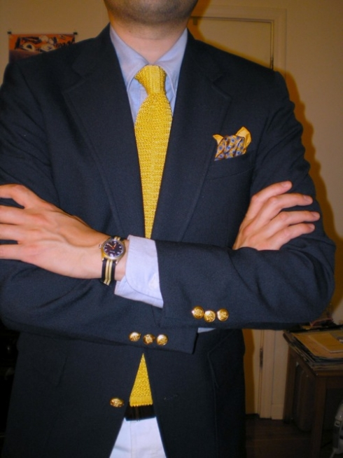 Style Tips & Inspiration for Wearing Yellow Ties | Bows-N ... Ed Westwick Single