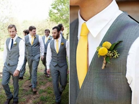 Yellow Ties Wedding