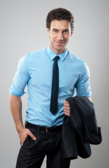 Men's Fashion Guide to Wearing Blue | Bows-N-Ties.com