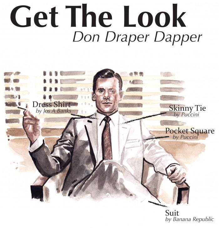 2017 fashion hacks - Get The Look Don Draper Dapper Bows N Ties Com