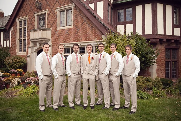 Groom and Groomsmen Ties