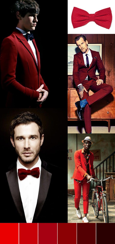 Menswear in Red