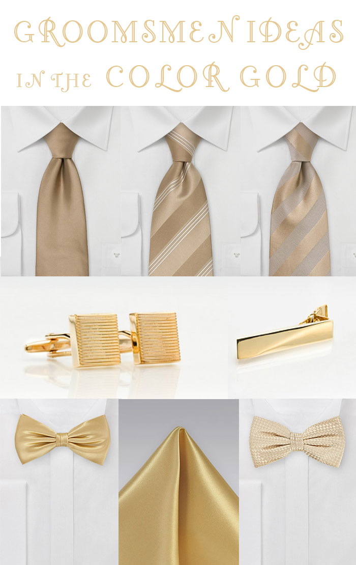 Wedding Inspiration For The Color Gold