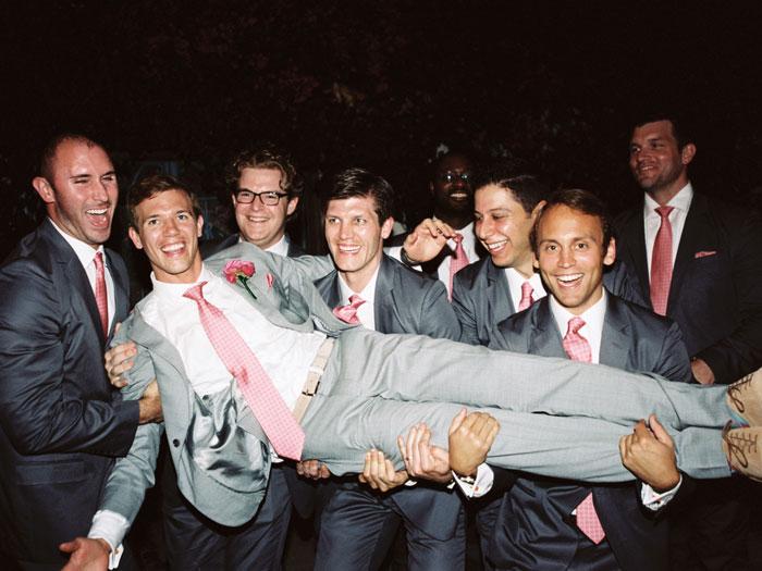 groomsmen-coral-neckties
