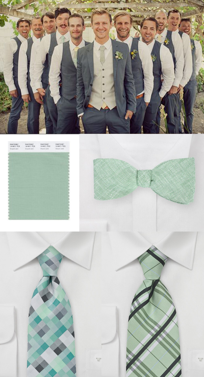 funeral picture board ideas - Featured Wedding Color – Grayed Jade