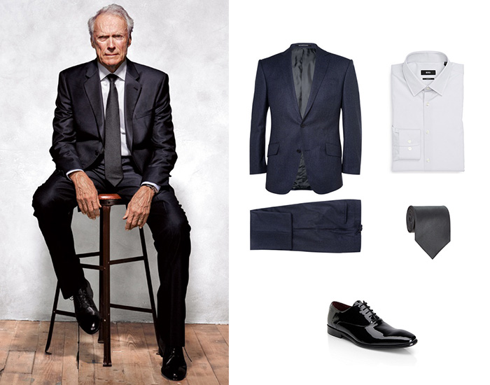 Look Of The Week – Style Icon Clint Eastwood | Bows-N-Ties.com