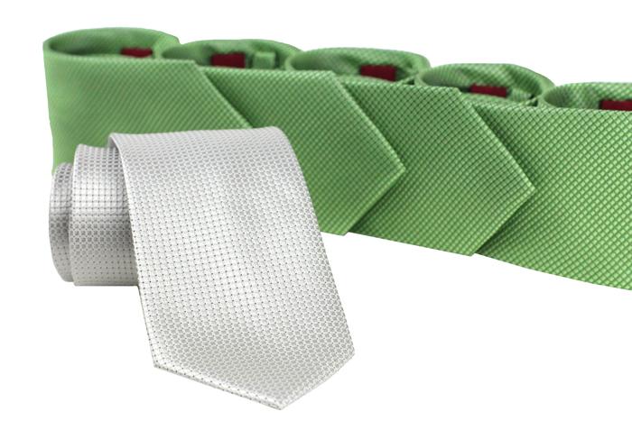 Textured Clover Green Ties