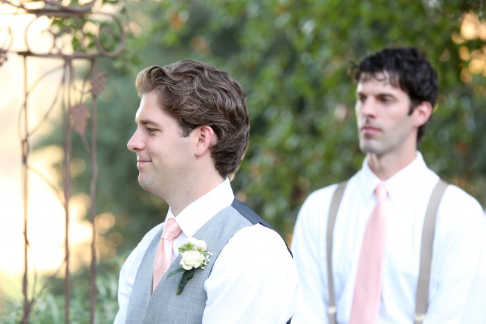 Featured Peach Apricot Wedding Tie