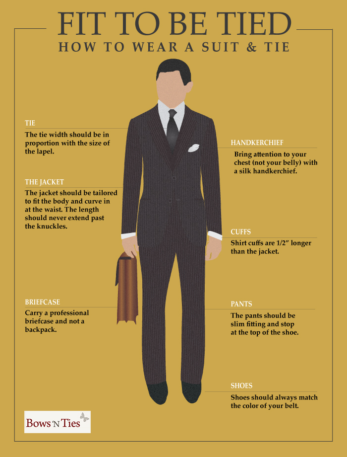 The Rules To Wearing a Suit