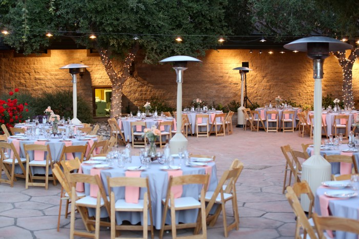 Table Venue For Vineyard Wedding