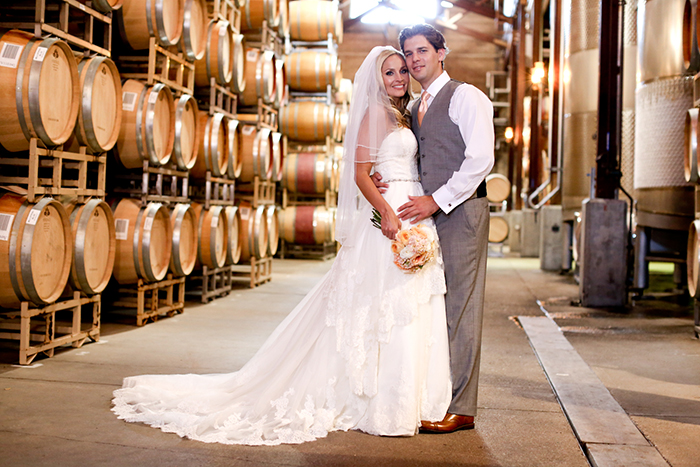 Firestone Vineyard Wedding - Cellar Photo