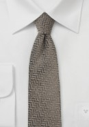 skinny-wool-tie-brown