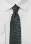 skinny-wool-tie-charcoal-black