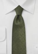 skinny-wool-tie-olive