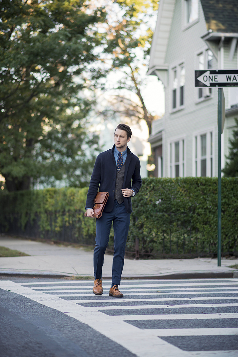 Street Style Featuring Dogs-N-Ties