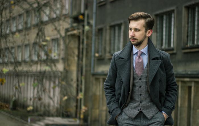 look of the week glen check tie tweed bows n. Black Bedroom Furniture Sets. Home Design Ideas