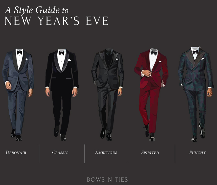 Menswear Style Guide to New Year's Eve