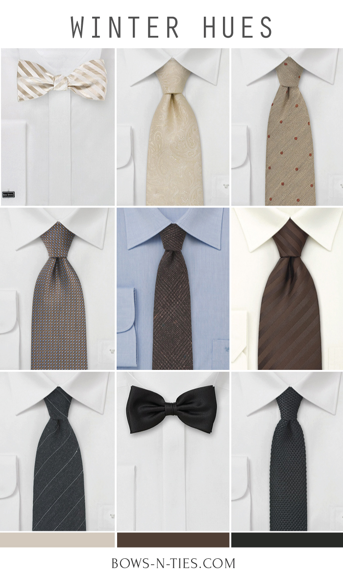 Ties For Winter Weddings