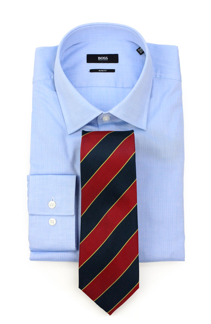 Blue Striped Shirts With Ties Quotes