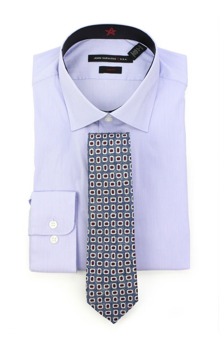 how to style one lilac striped shirt 4 ways bows n ties