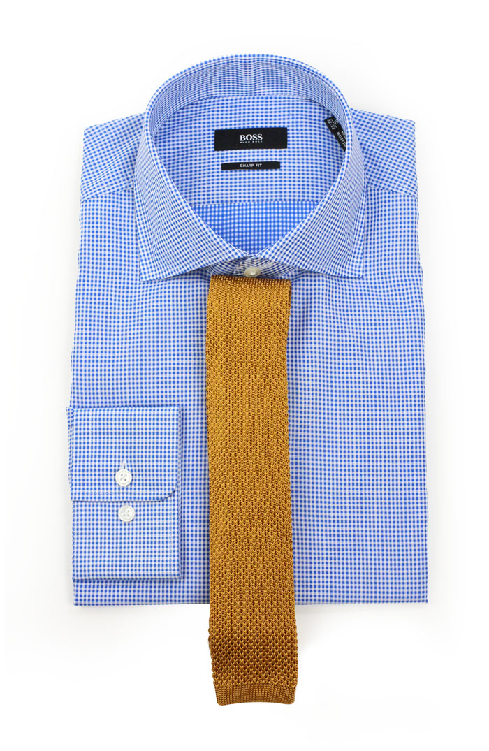 The Best Ties to Pair With Micro-Check Dress Shirts ...