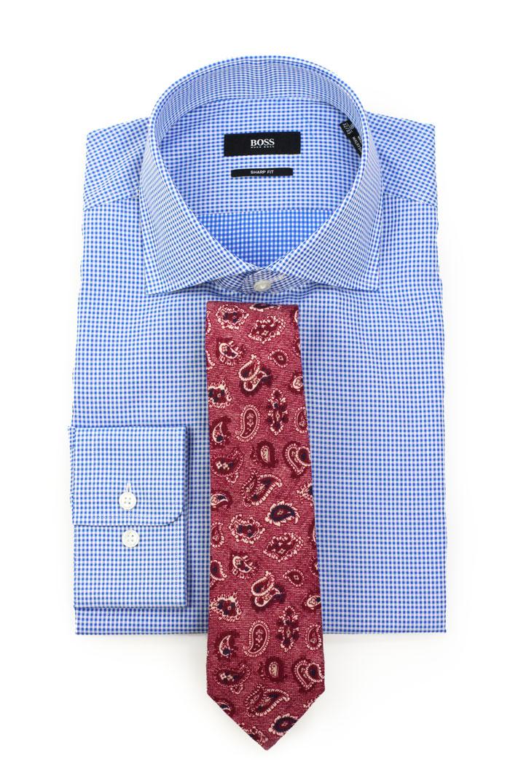 Mens Pink Gingham Shirt