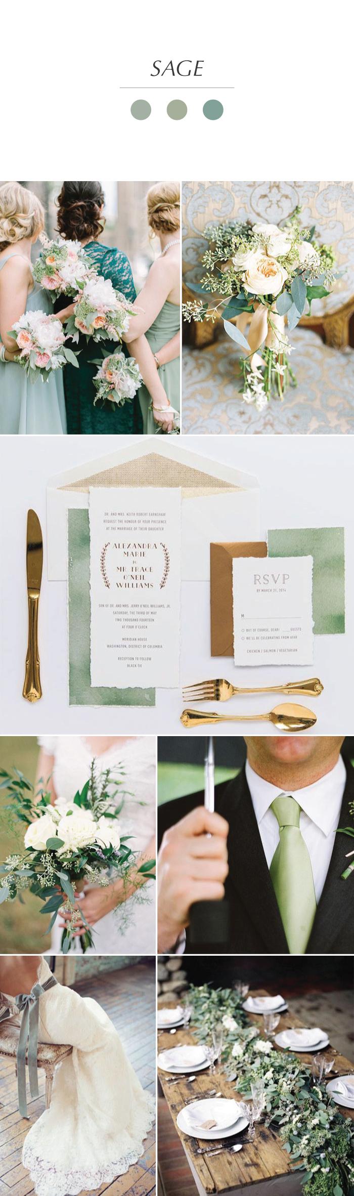 Sage Wedding Inspiration Sage Green