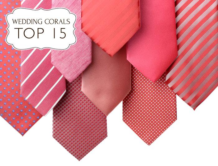 ties popular coral neckties