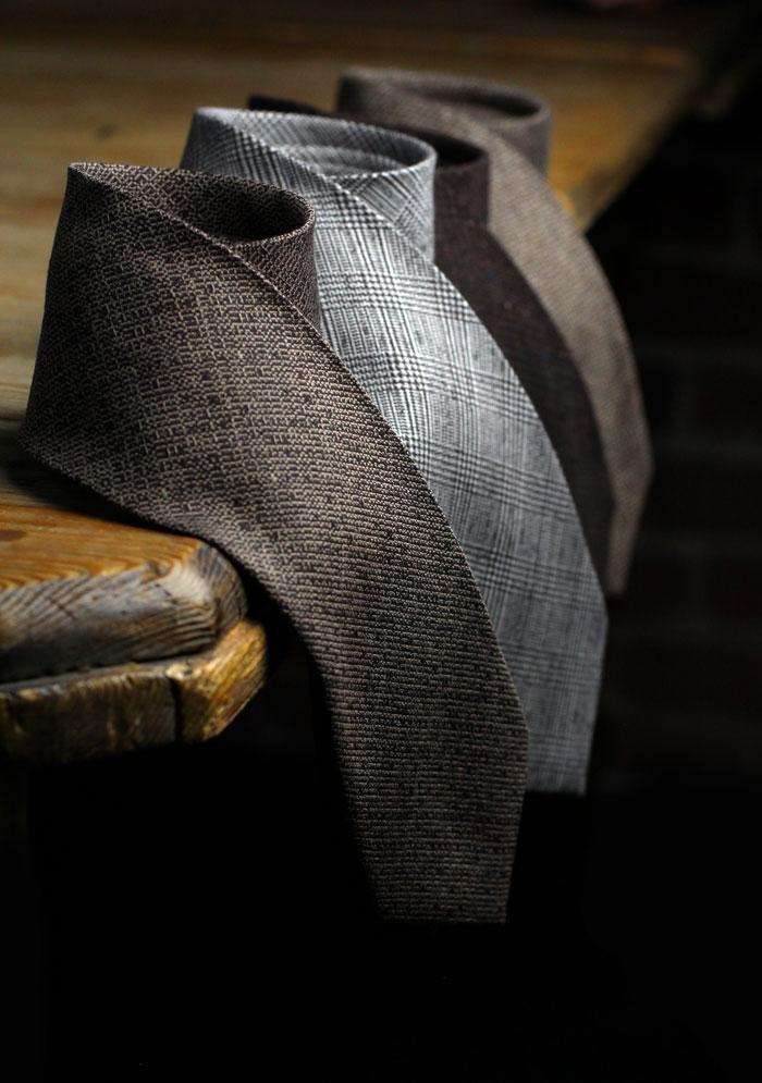 Designer Brown Ties
