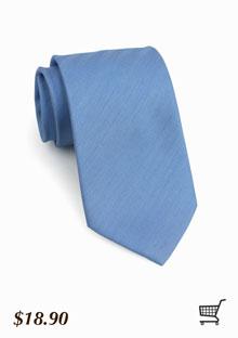 Designer Necktie In Cornflower Blue