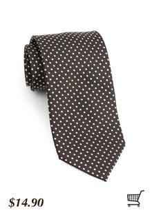 Diamond Patterned Tie