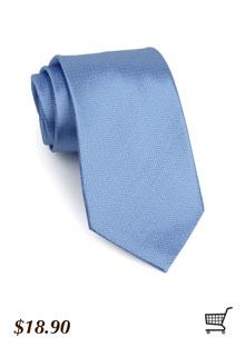 Herringbone Tie in Cornflower
