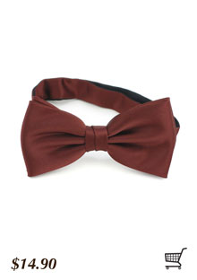 Mocha Bow Tie