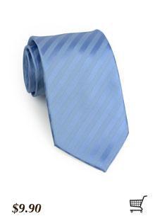 Subtle Striped Tie in Cornflower
