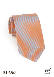 Trendy Tie in Weathered Rose