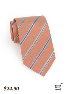 Weathered Rose + Blue Tie