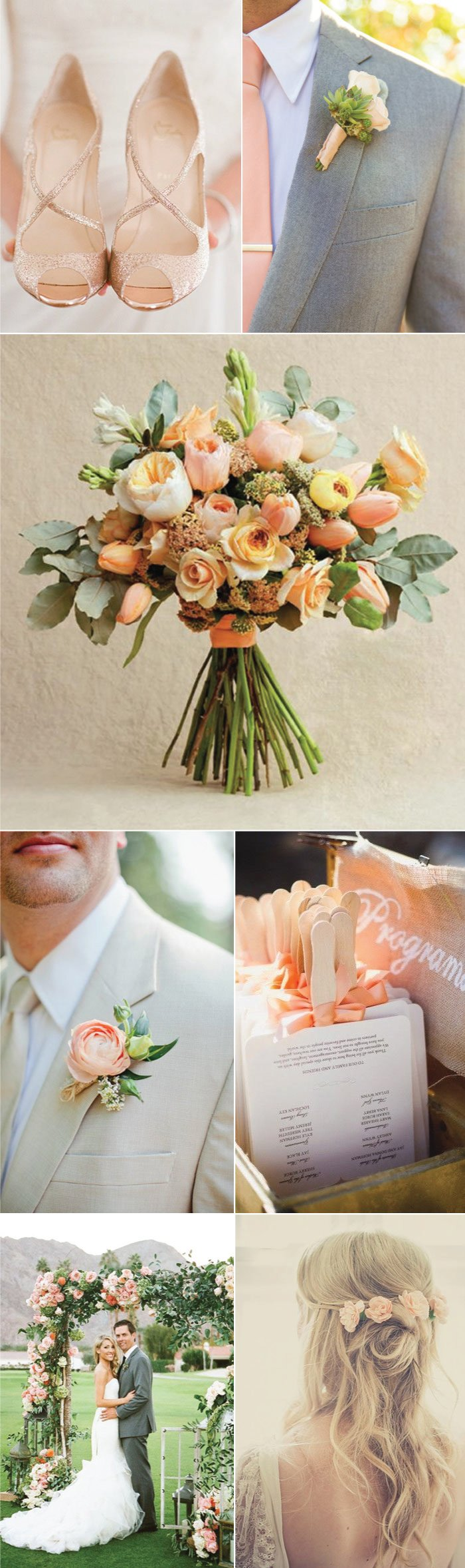 Wedding in Weathered Rose