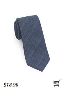 Designer Tie in Indigo Blue