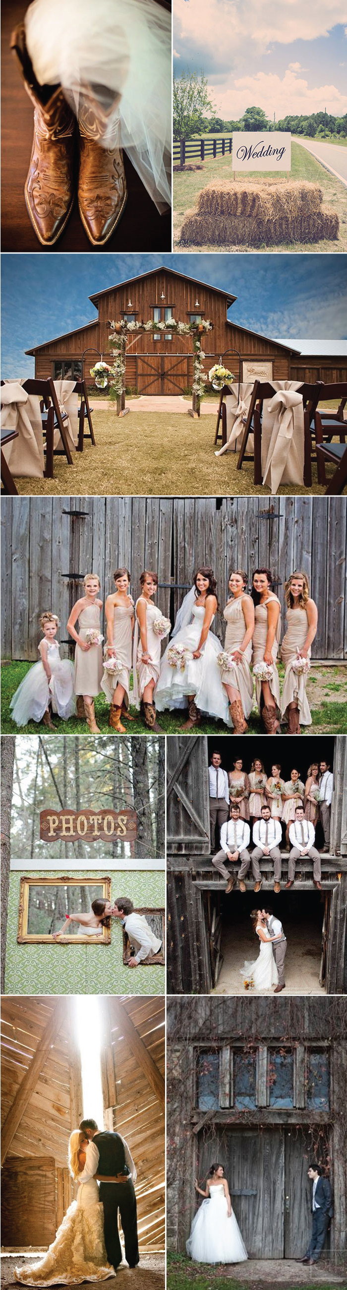Inspiration Ideas for Barn Weddings